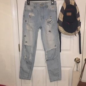 Light Wash Forever 21 Jeans